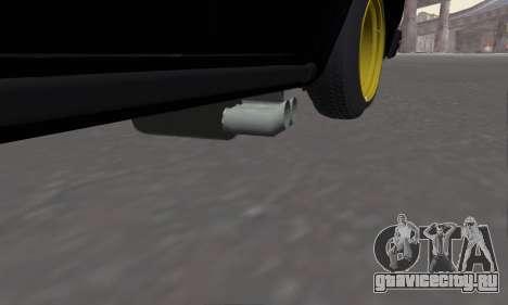Ваз 2107 Блек Джек для GTA San Andreas вид справа