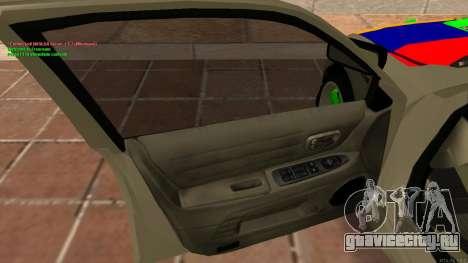 Toyota Altezza Armenian для GTA San Andreas вид сзади