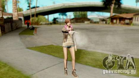 Resident Evil Revelations 2 - Moira Burton для GTA San Andreas третий скриншот