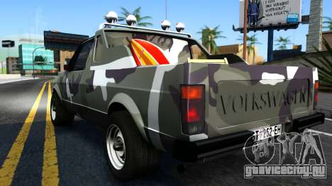 Volkswagen Caddy для GTA San Andreas вид справа