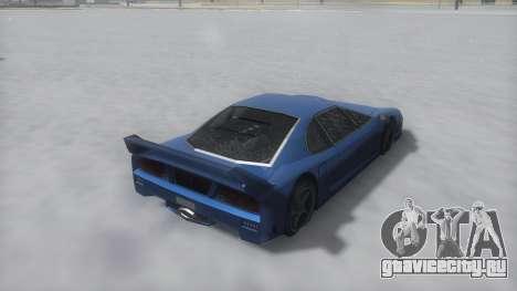 Turismo Winter IVF для GTA San Andreas вид справа