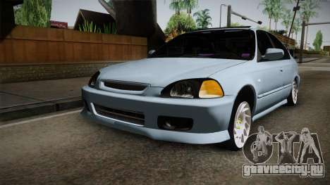 Honda Civic Turbo для GTA San Andreas вид справа