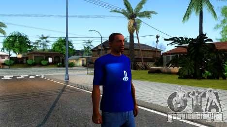 T-Shirt PS4 для GTA San Andreas второй скриншот