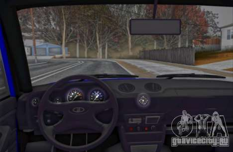 VAZ 2106 KBR для GTA San Andreas вид сзади