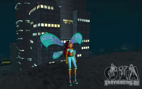 Aisha Believix from Winx Club Rockstars для GTA San Andreas