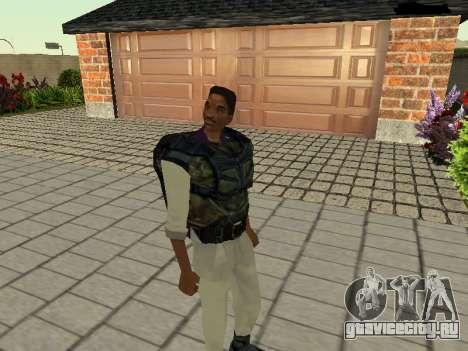 Ленс Венс (Черныш) для GTA San Andreas второй скриншот