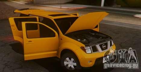 Nissan Pathfinder для GTA San Andreas вид справа