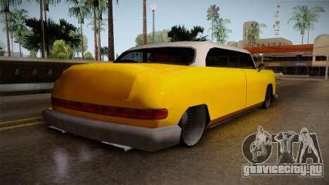 Custom Cab для GTA San Andreas вид слева