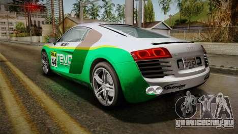 Audi R8 Coupe 4.2 FSI quattro EU-Spec 2008 YCH для GTA San Andreas салон