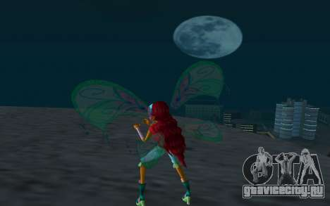 Aisha Believix from Winx Club Rockstars для GTA San Andreas третий скриншот