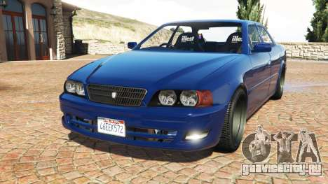 Toyota Chaser (JZX100) cambered v1.1 [add-on] для GTA 5