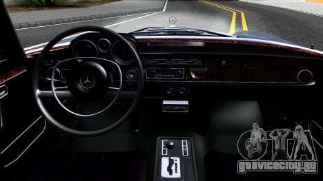Mercedes-Benz 300SEL 6.3 для GTA San Andreas вид сверху