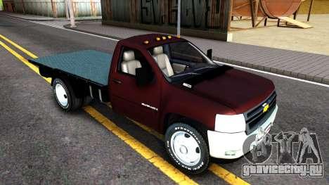 Chevrolet HD 3500 2013 для GTA San Andreas вид слева