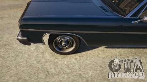 TLAD Regina Sedan для GTA 5 вид сзади