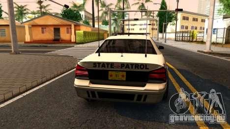 Brute Stanier 2009 Iowa State Patrol для GTA San Andreas