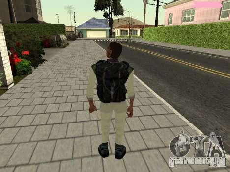 Ленс Венс (Черныш) для GTA San Andreas третий скриншот