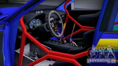 Subaru Impreza WRX STI WRC Rally 2005 для GTA San Andreas вид сзади