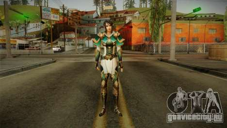 Dynasty Warriors 8 - Xing Cai для GTA San Andreas второй скриншот