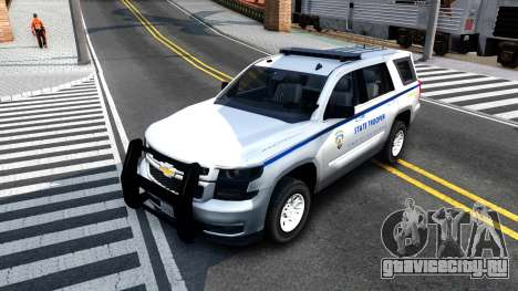 2015 Chevy Tahoe San Andreas State Trooper для GTA San Andreas