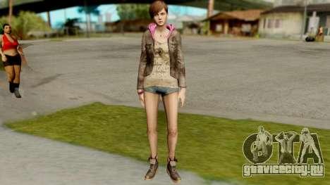 Resident Evil Revelations 2 - Moira Burton для GTA San Andreas