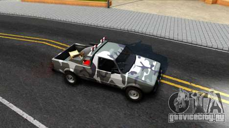 Volkswagen Caddy для GTA San Andreas вид сзади