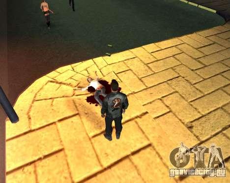 Таскать труп 2016 для GTA San Andreas четвёртый скриншот