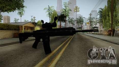 HK416 v2 для GTA San Andreas второй скриншот