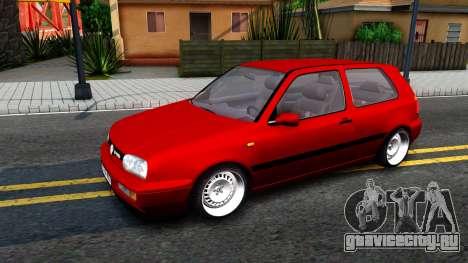 Volkswagen Golf Mk3 1997 для GTA San Andreas