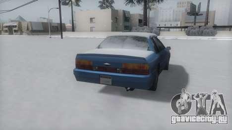 Previon Winter IVF для GTA San Andreas вид справа