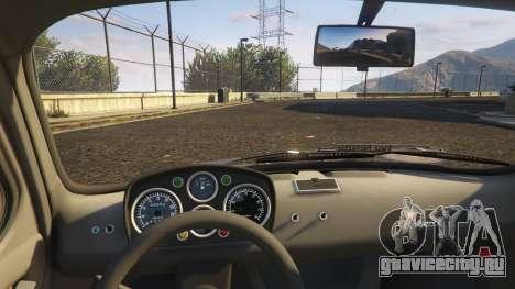 Fiat Abarth 595ss Street ver для GTA 5 вид справа
