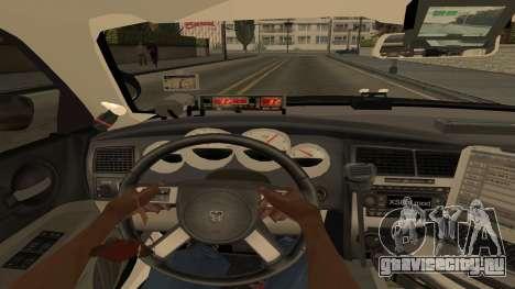 Dodge Charger County Sheriff для GTA San Andreas вид сверху