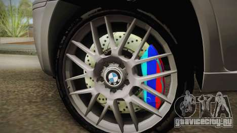 BMW X5M 2012 Special для GTA San Andreas вид сзади слева