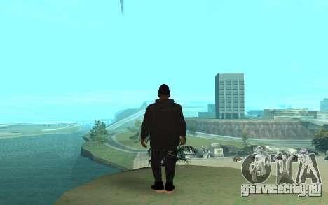 Winter Gangster для GTA San Andreas третий скриншот