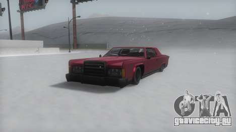 Remington Winter IVF для GTA San Andreas