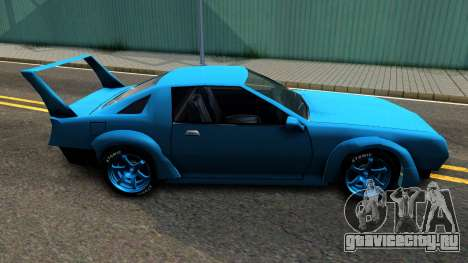 New Buffalo Custom для GTA San Andreas вид слева