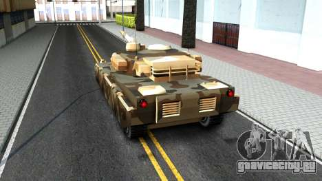 Rhino GTA V для GTA San Andreas вид сзади