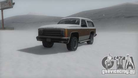 Rancher Winter IVF для GTA San Andreas