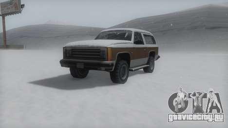 Rancher Winter IVF для GTA San Andreas