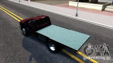 Chevrolet HD 3500 2013 для GTA San Andreas вид сзади слева