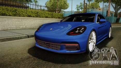 Porsche Panamera 4S 2017 v2.0 для GTA San Andreas