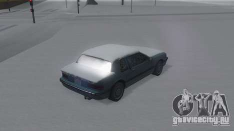 Bravura Winter IVF для GTA San Andreas вид слева