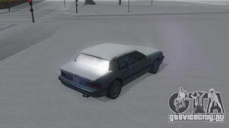 Bravura Winter IVF для GTA San Andreas вид слева