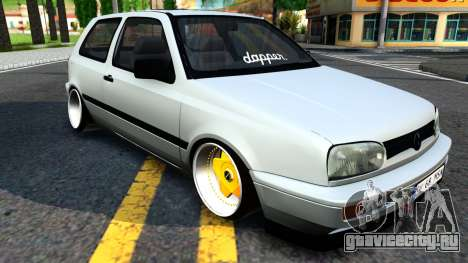 Volkswagen Golf 3 Low для GTA San Andreas
