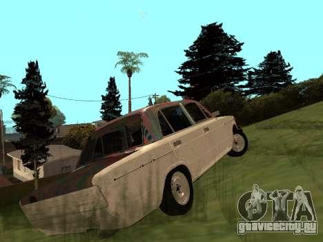ВАЗ 2101 (06) Гараж 54 для GTA San Andreas вид сзади слева