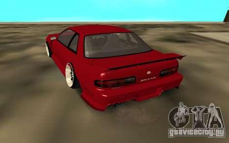 Nissan Onivea для GTA San Andreas вид сзади слева