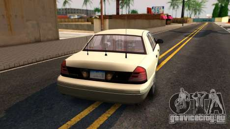 Ford Crown Victoria Unmarked 2009 для GTA San Andreas вид слева