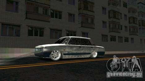 ВАЗ 2107 Classic 2 Зимняя версия для GTA San Andreas вид слева