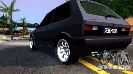 Yugo Koral 45 Sport Tuning для GTA San Andreas