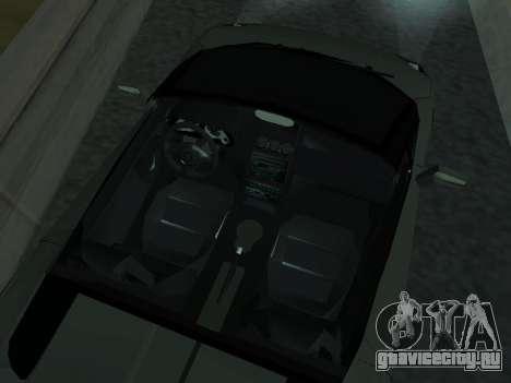 Lamborghini Galardo Spider для GTA San Andreas вид сверху