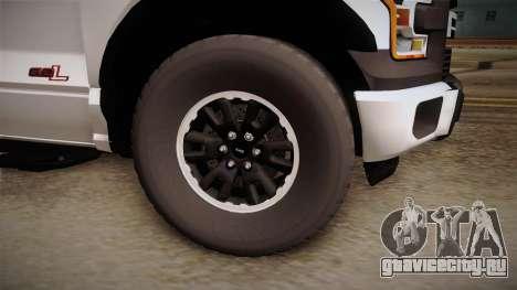 Ford Raptor для GTA San Andreas вид сзади